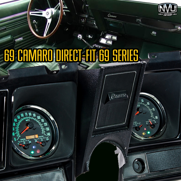 69 camaro custom gauges dash instruments