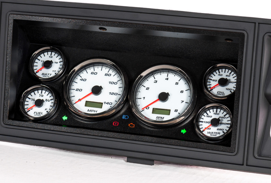 73-79 f100 custom dash gauge kit